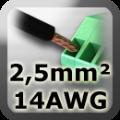2,5 mm²